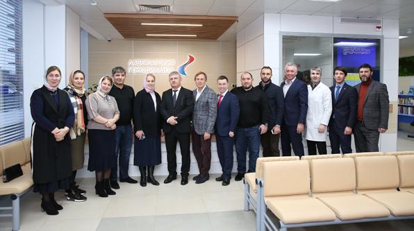 В Уфу прибыла официальная делегация здравоохранения Чеченской Республики.