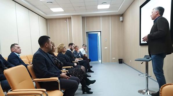 Состоялась встреча руководителей ООО «Лаборатория гемодиализа»
