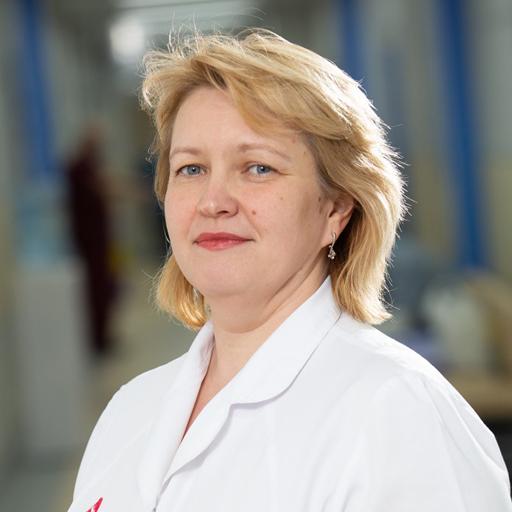 Гаврикова Любовь Анатольевна, старшая медсестра ЛГ Уфа-5, стаж 20 лет