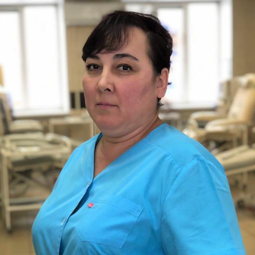 Яковлева Надежда Георгиевна, санитарка, стаж 2 года