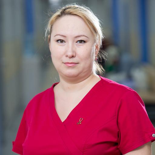 Мухаметшина Альбина Наилевна, медсестра, стаж 18 лет