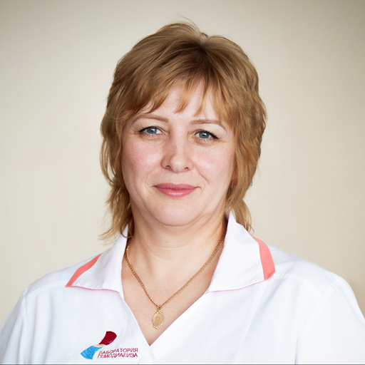 Никерина Наталья Николаевна, медсестра, стаж 28 лет