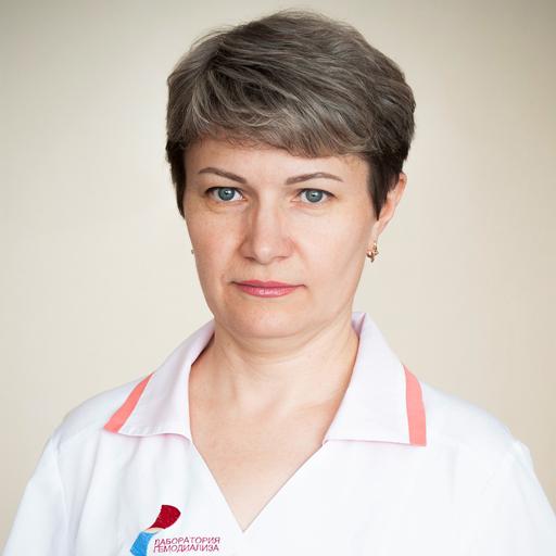 Прокудина Людмила Алексеевна, медсестра, стаж 30 лет