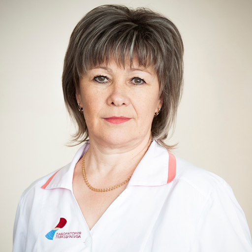 Сорониа Елена Александровна, старшая медсестра, стаж 32 года