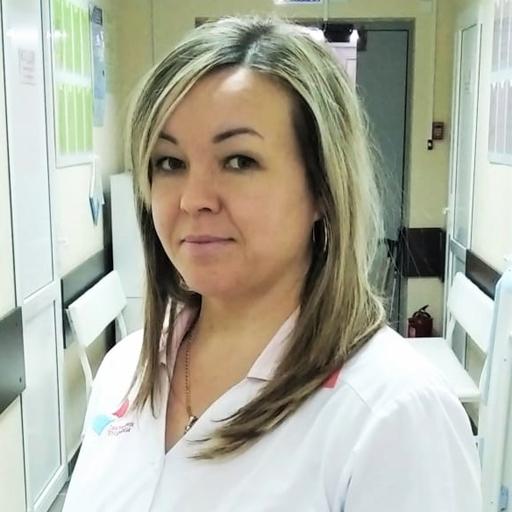 Алимбекова Эльза Галиевна, медсестра, стаж 19 лет
