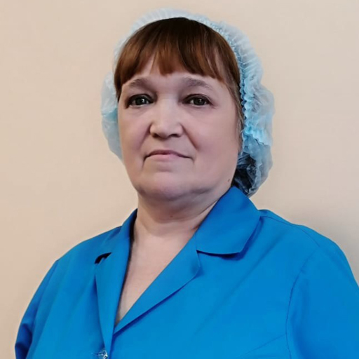 Байрашева Любовь Веденеевна, санитарка