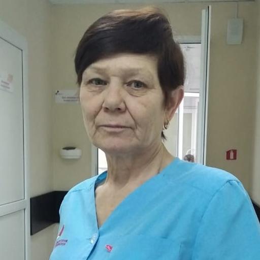 Дашкина Зиля Талгатовна, санитарка, стаж 18 лет
