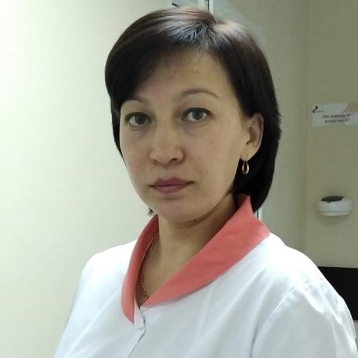 Кинзикеева Гузель Робертовна, старшая медсестра